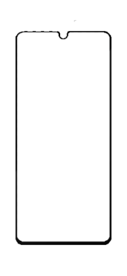 Samsung Galaxy A41 Screenprotector High Impact Glass