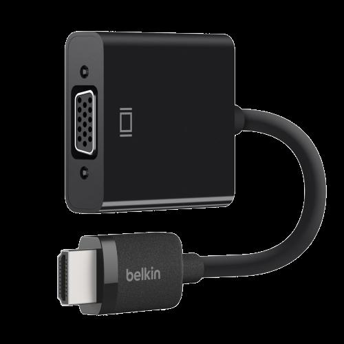 Koppelstuk HDMI (M) -  VGA (F) Met 3.5mm (F) audio