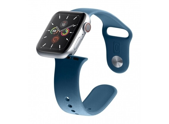 Cellularline - Apple watch 42/44 mm blauw