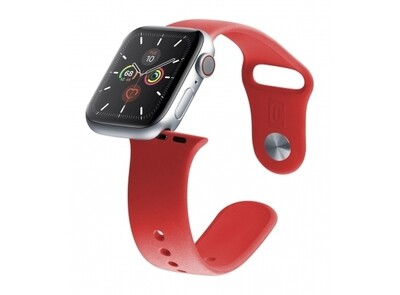 Cellularline - Apple watch 38/40 mm rood