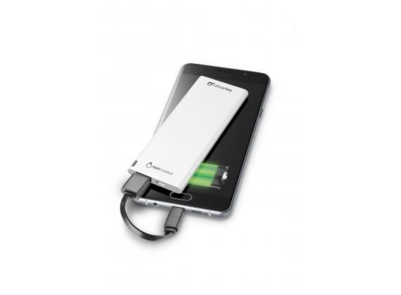 Cellular Line Free Power Slim 3000 Powerbank Wit