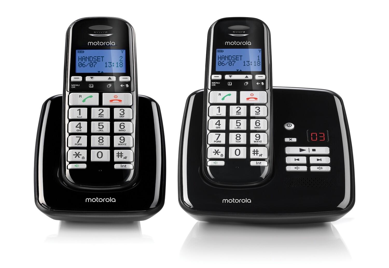 Telefoon Draagbaar Motorola S3012 zwart