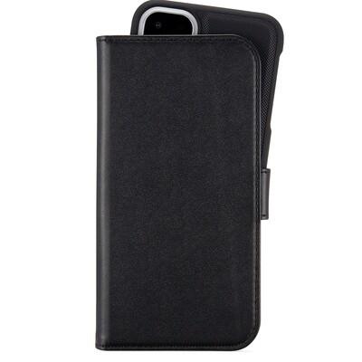 iPhone 11 wallet hoesje, magnetisch zwart