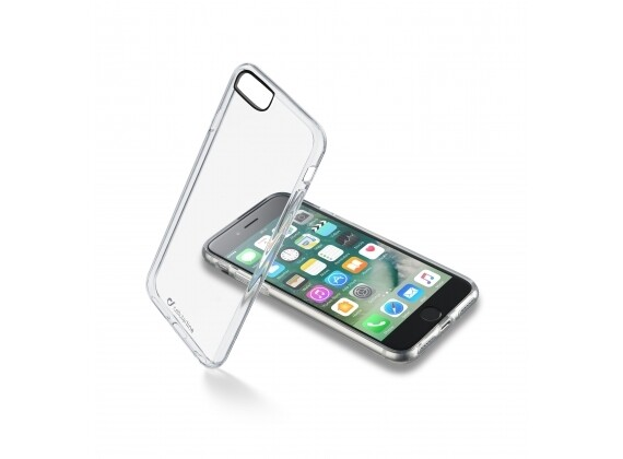 Cellular Line iPhone 7 Cover Clear Duo Transparant
