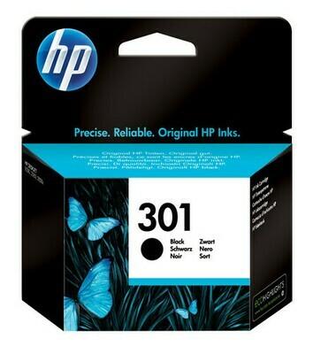 Inkt HP 301 Zwart