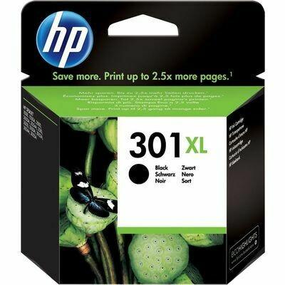 Inkt HP 301XL Zwart