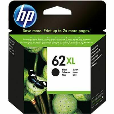 Inkt HP 62 XL Zwart