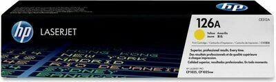 Inkt HP 126A Geel