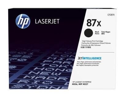 Inkt HP 87X Zwart