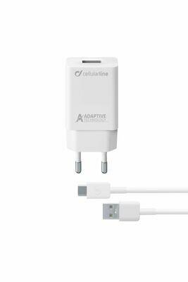 Cellularline Samsung USB-C Charger 15W Wit