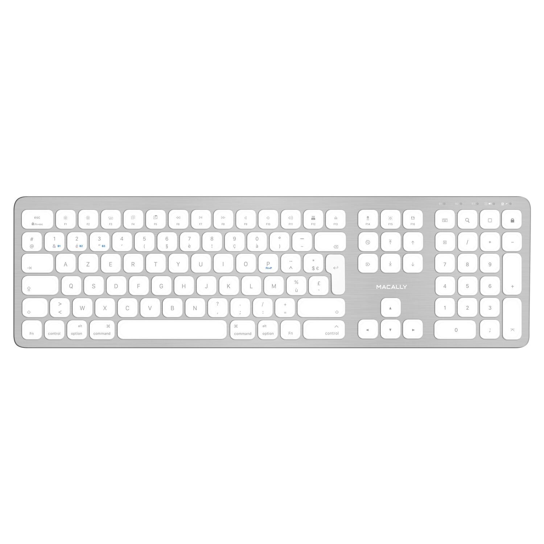 Ultra slim Bluetooth wireless keyboard for Mac - Azerty