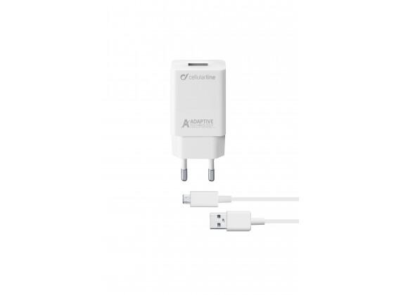 Cellular Line 15W Micro USB Samsung Charge kit