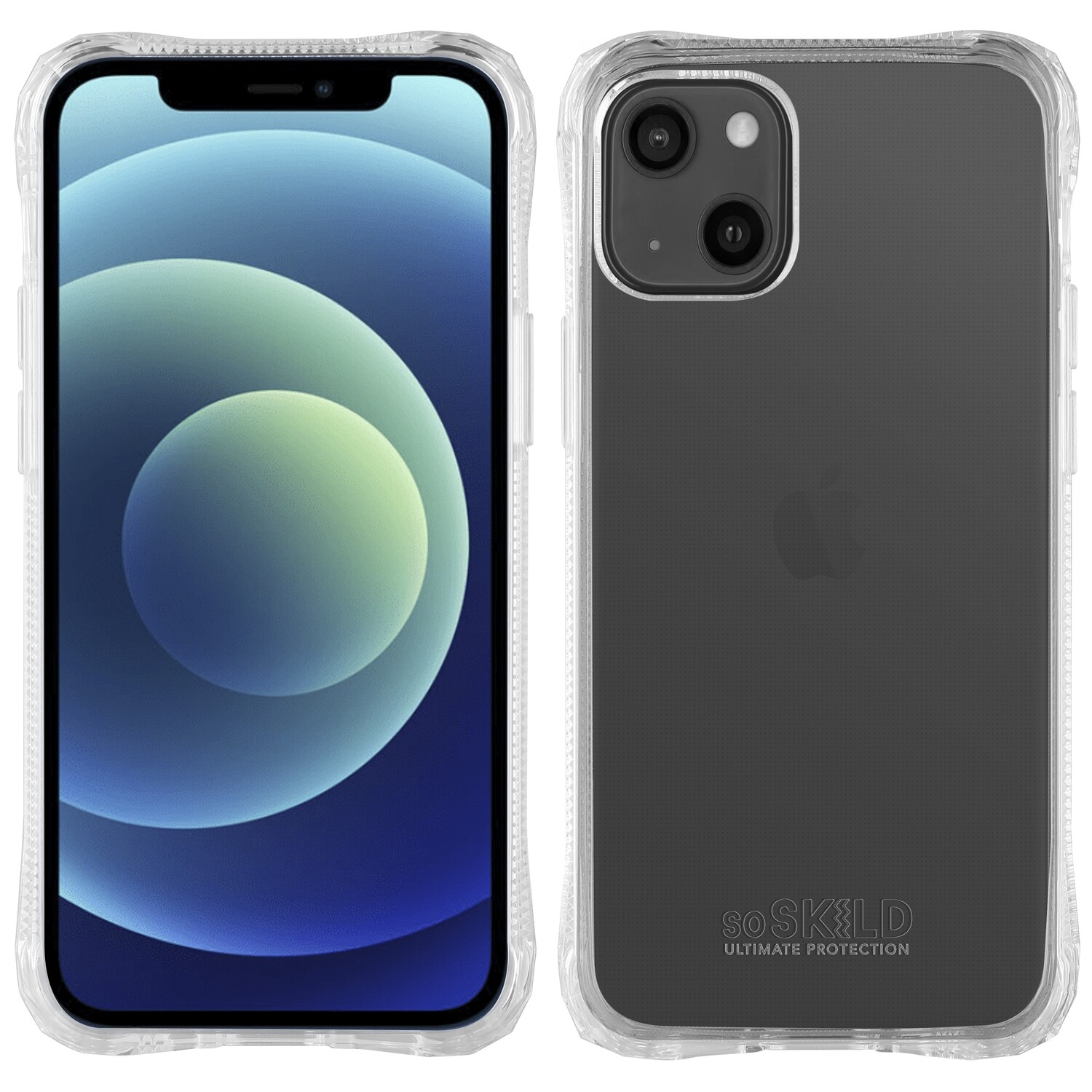 iPhone 13 Absorb 2.0 Impact Hoesje - Transparant