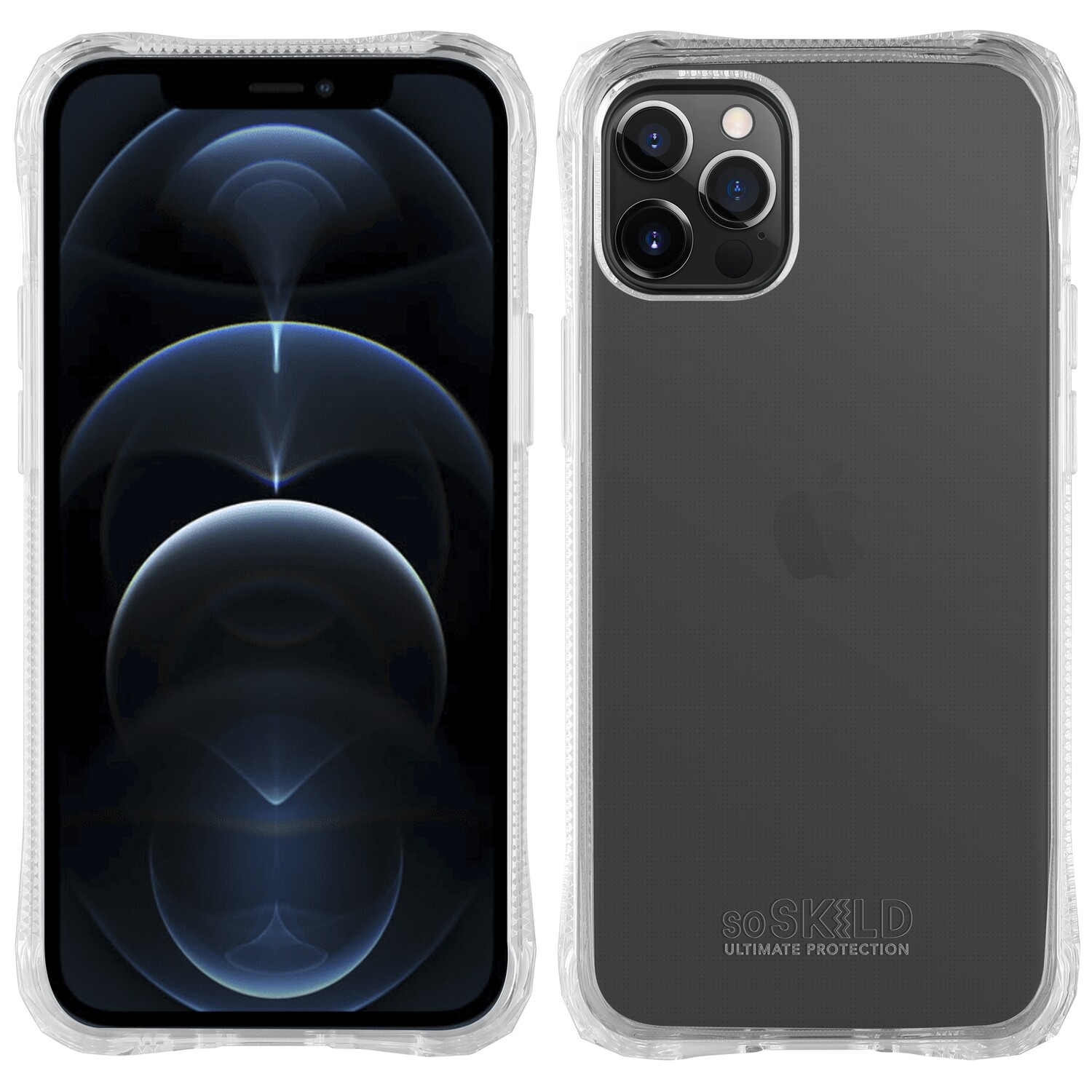 iPhone 13 Pro Absorb 2.0 Impact Hoesje - Transparant