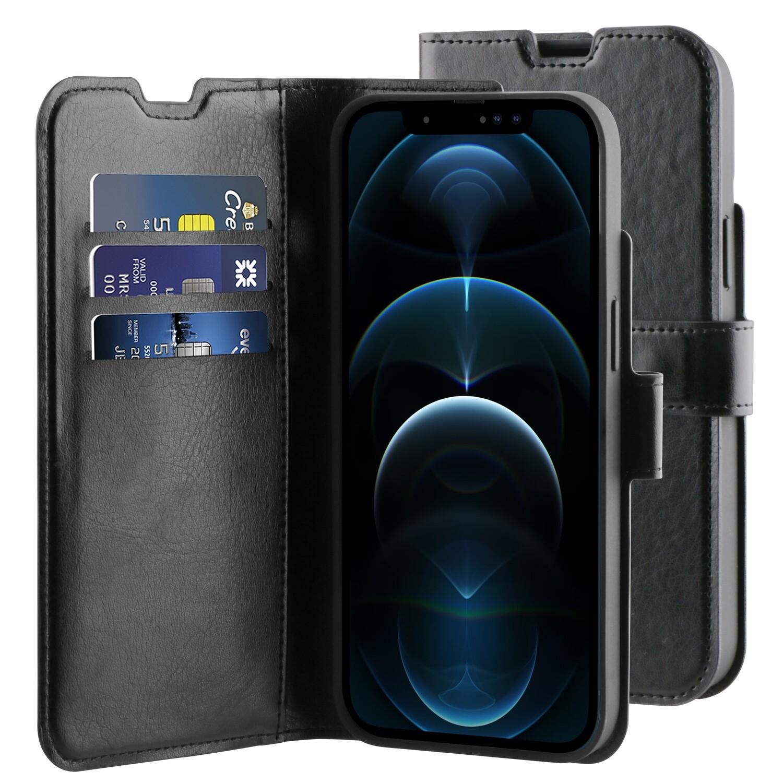 iPhone 13 Pro Max Gel Wallet Hoesje Zwart