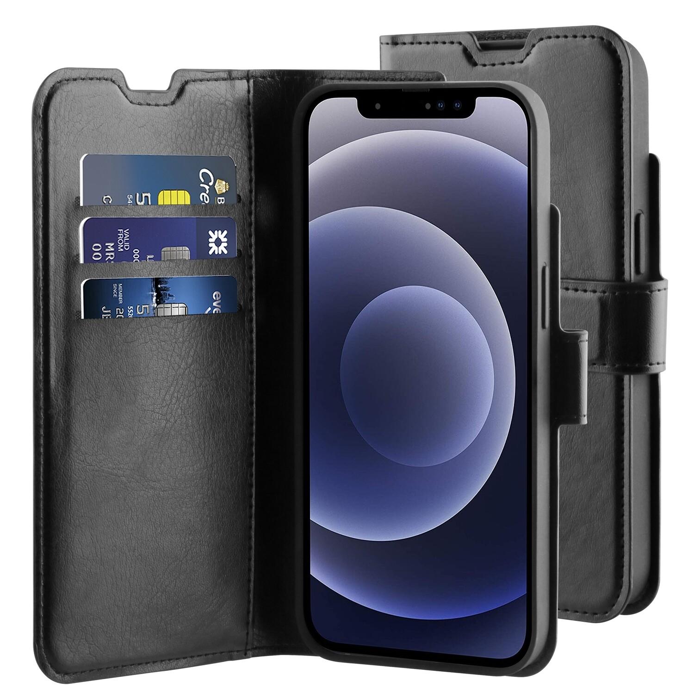 iPhone 13 mini Gel Wallet Hoesje Zwart
