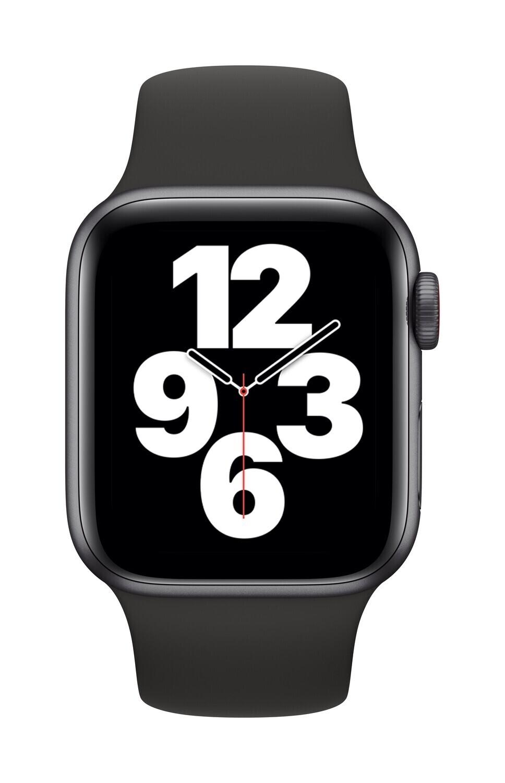 Apple Watch SE 40mm Zwart Aluminium Case GPS + Cellular