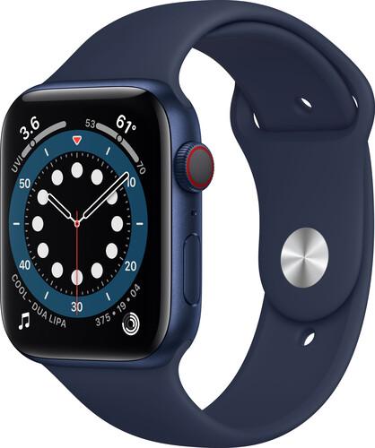 Apple Watch Series 6 44mm Blue Navy Aluminium Case GPS + Cellular