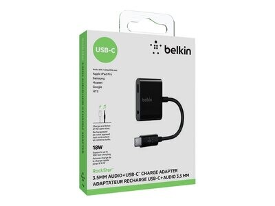 USB-C Audio + Charge Adapter