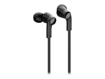 Headphones with USB-C Connector Zwart