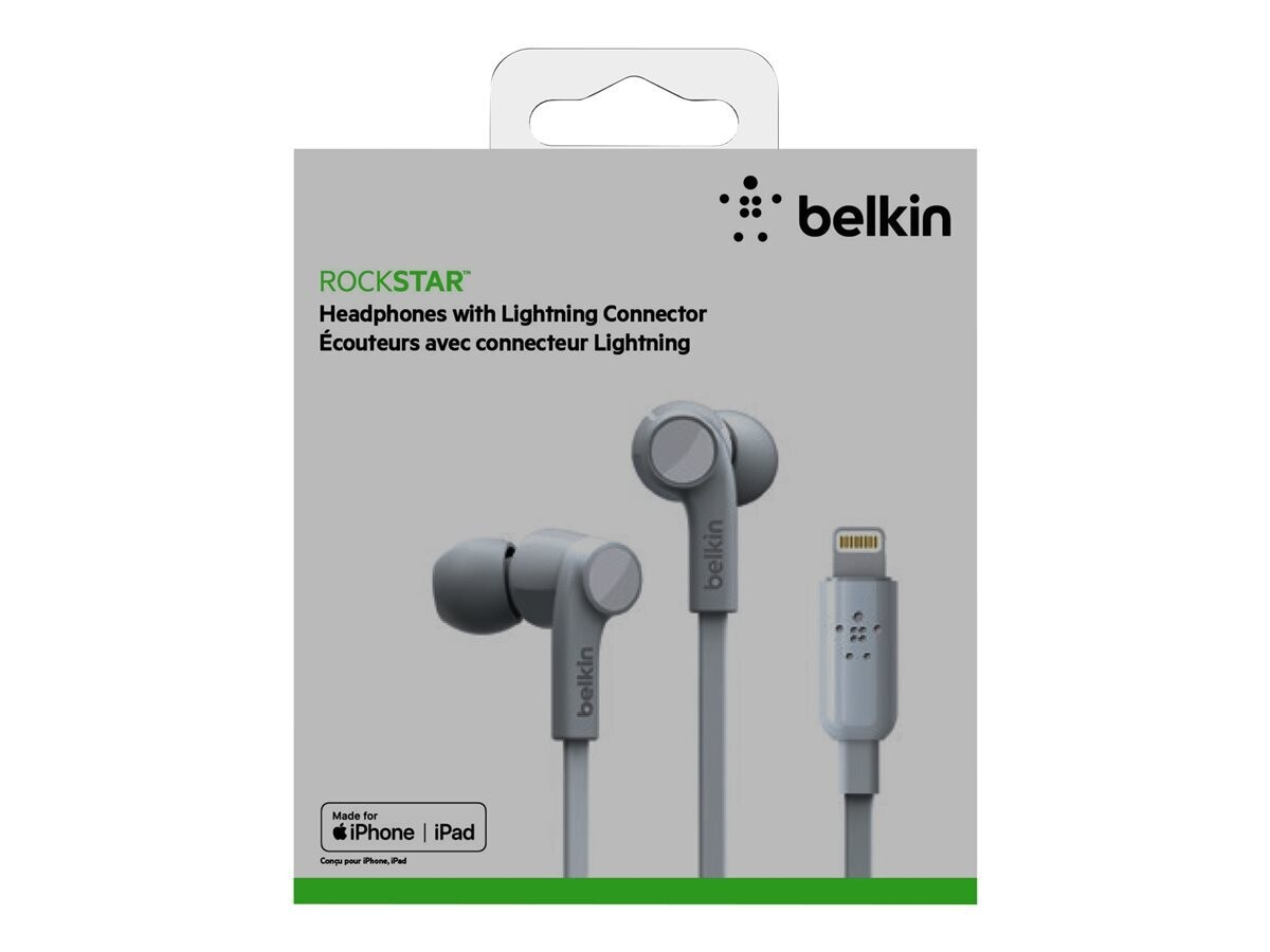 Headphones with Lightning Connector White