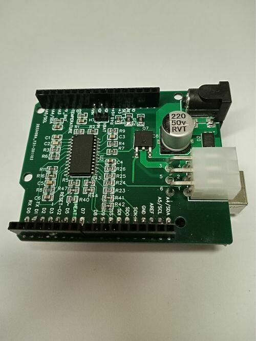 Lambda Shield Educative. Controlduino 01S00V00.