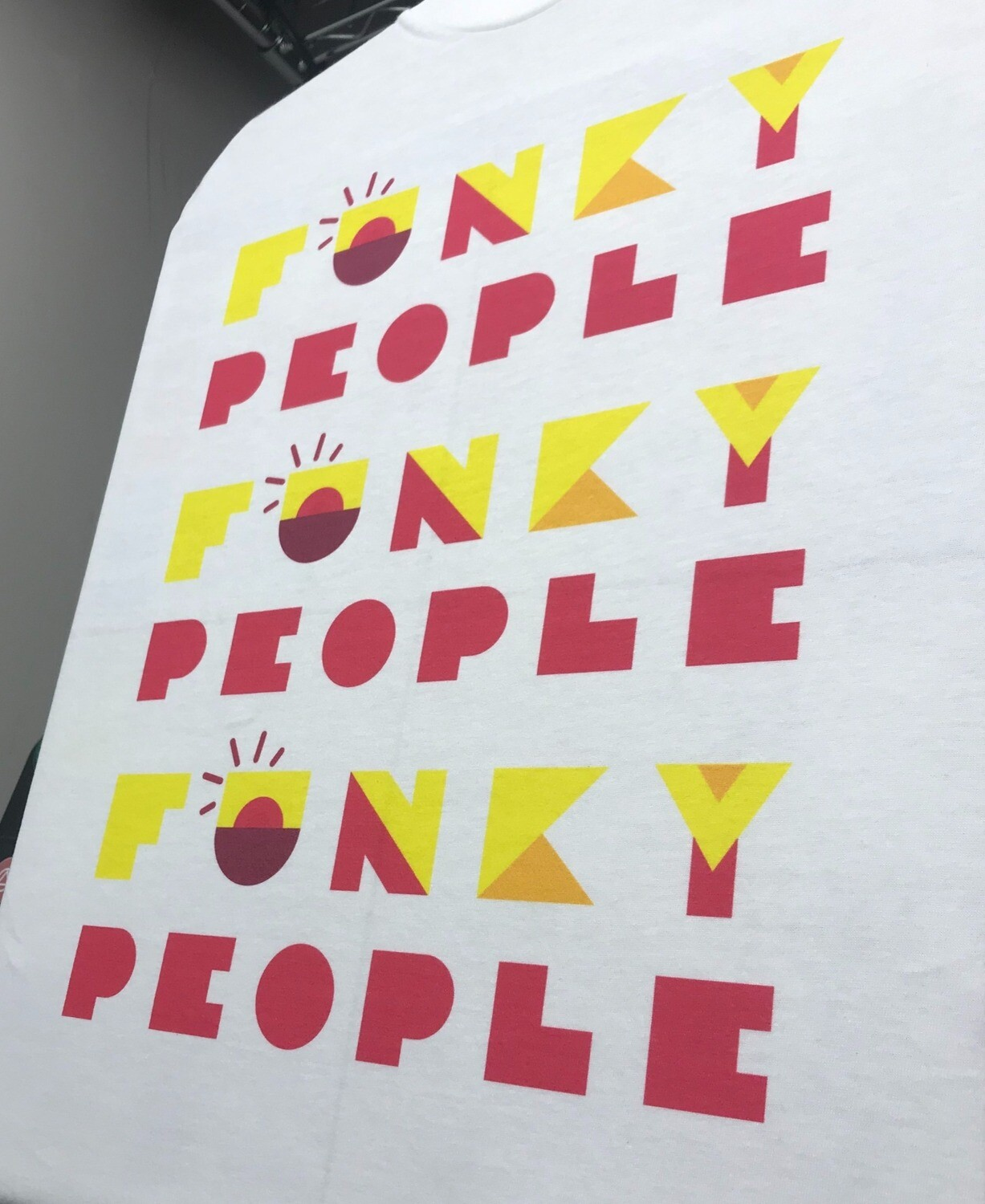 FUNKY PEOPLE Repeat T Shirt
