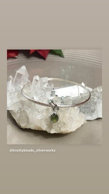 Handmade Sterling Silver bangle