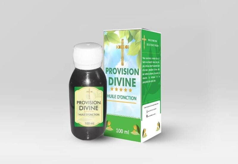 Huile d'onction Provision Divine