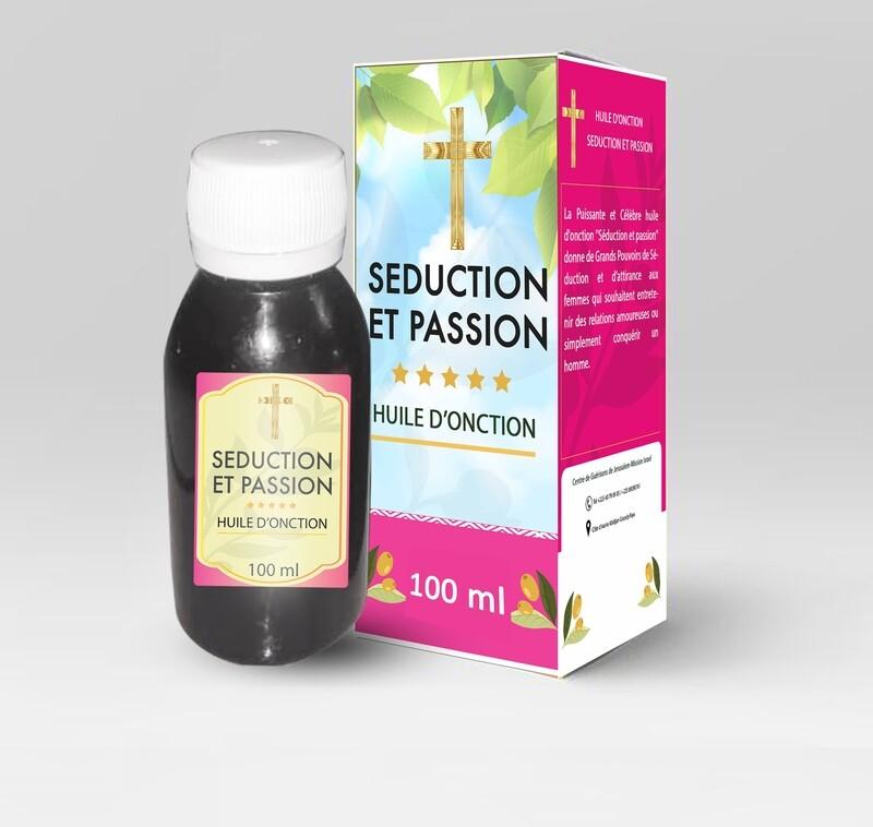 Huile d'onction Séduction et passion