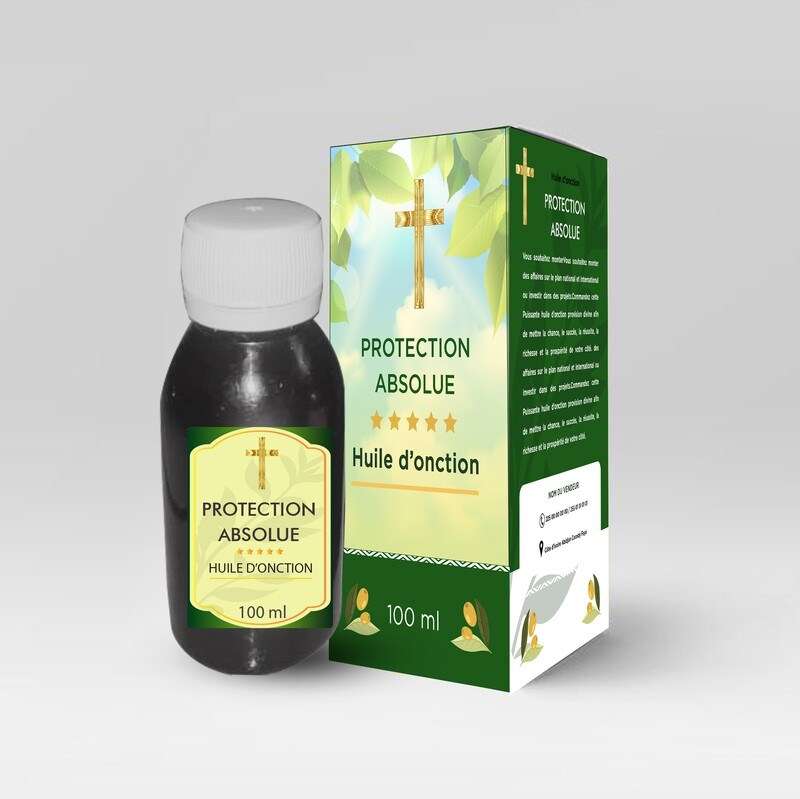 Huile d'onction PROTECTION ABSOLUE