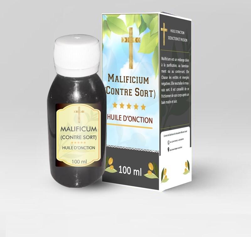 Huile d'onction Maleficium