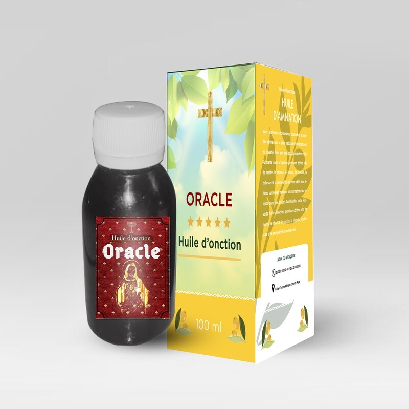 Huile d'onction Oracle