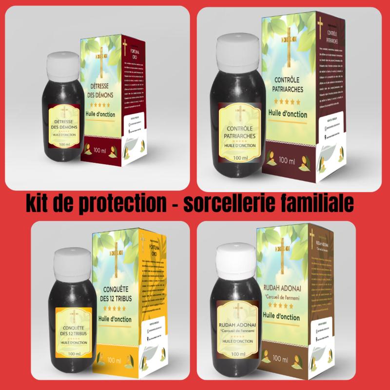 Kit de protection contre la sorcellerie familiale
