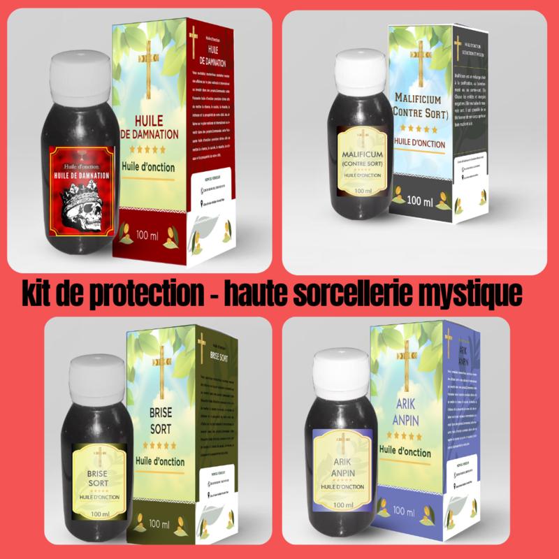 kit de protection contre la haute sorcellerie mystique