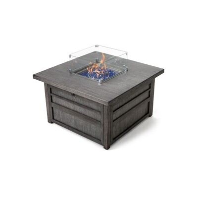 DARCY SQUARE FIRE PIT TABLE