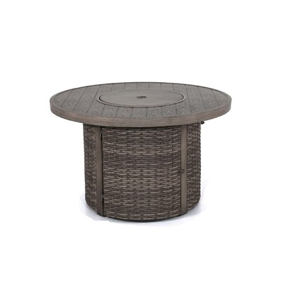 TENYA ROUND FIRE PIT TABLE