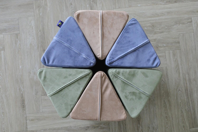 Комплект чехлов (2 основы / 3 подушки)