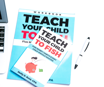 Teach Your Child to Fish Book and Workbook Bundle