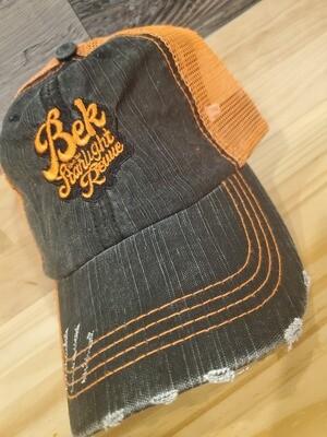 Hat (Orange Mesh)