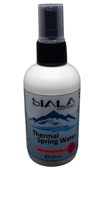 Thermal Spring Water with Damascus Rose   pure and rich in minerals water   high mineral content water…