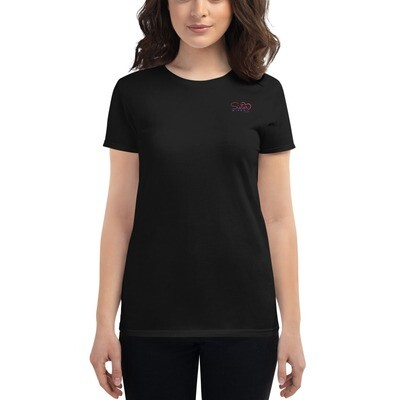 Women's short sleeve t-shirt Yes I am with them both