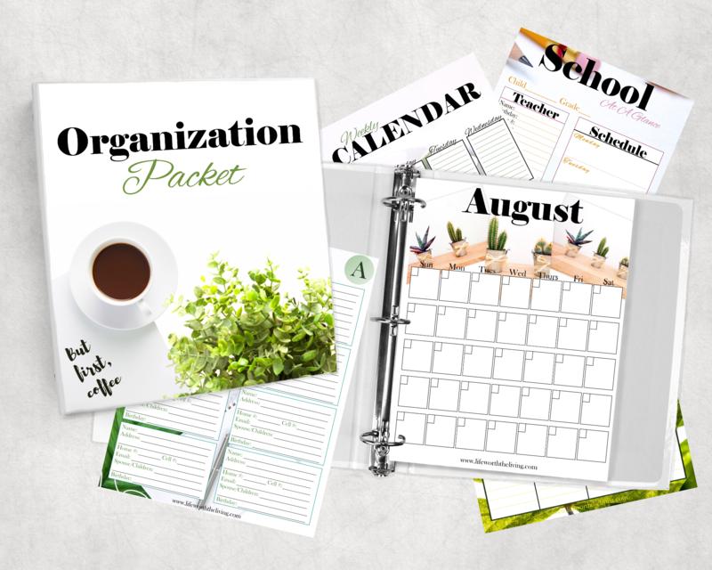 Organization Packet