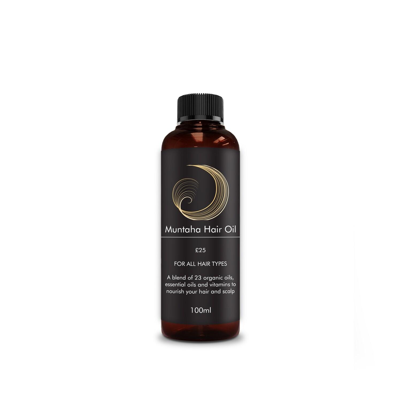 Muntaha Hair Oil 100ml - RRP! £25