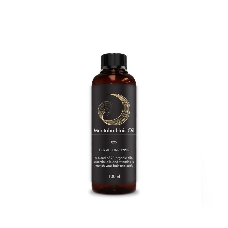 Limited Offer - Muntaha Hair Oil 100ml (UK, EUROPE & USA)