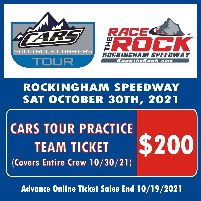Practice - CARS Tour - 10/30/21