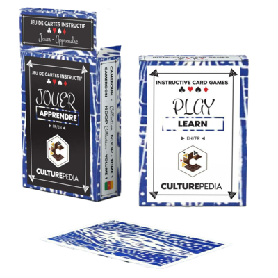 Creative and educational CARD GAMES, Culturepedia Cards - NDOP COLLECTION