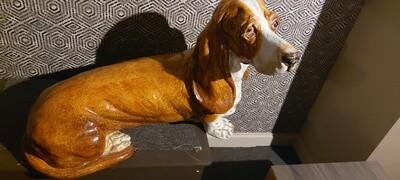 Art Deco Hond 70cm - 50cm