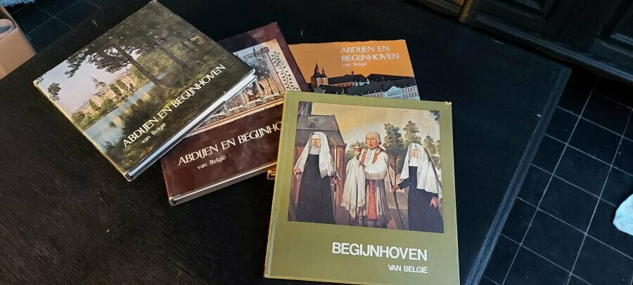 Begijnhoven & Abdijen in Belgie 4 boeken