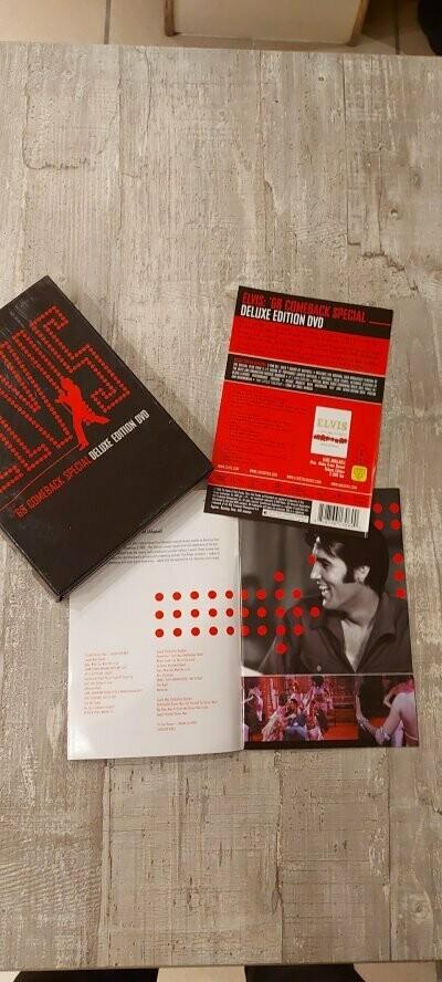 Elvis - 68 Comeback Special (Deluxe Edition) - 3 DVD's